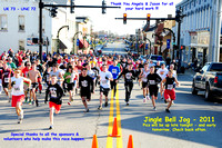 The Start......Jingle Bell Jog 5K - 2011