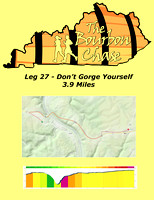 Leg 27 - Don't Gorge Yourself 3.9 Miles