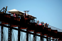 Tyrone Railroad Bridge Bungee Jump July 4th 2014